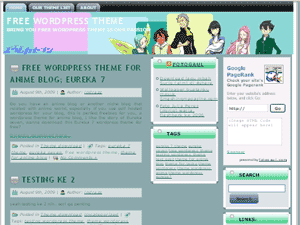 theme wordpress anime